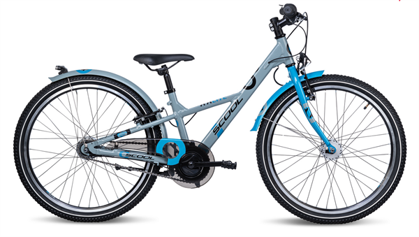 S´COOL XXLite 24 alloy 7-speed grey/petrol