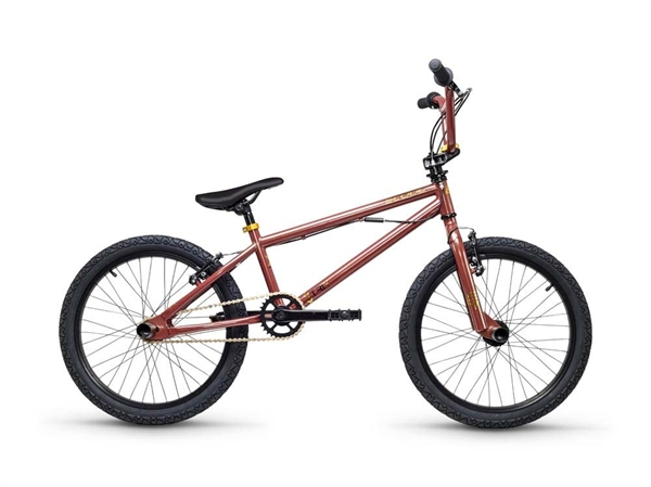 S´COOL XtriX 20 20 Stahl 1-Gang brown/gold glossy