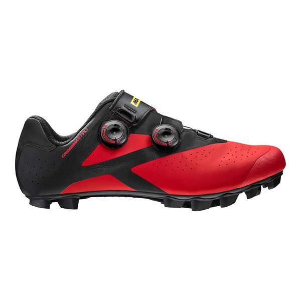 Mavic Crossmax Pro MTB Shoe black/fiery red/black