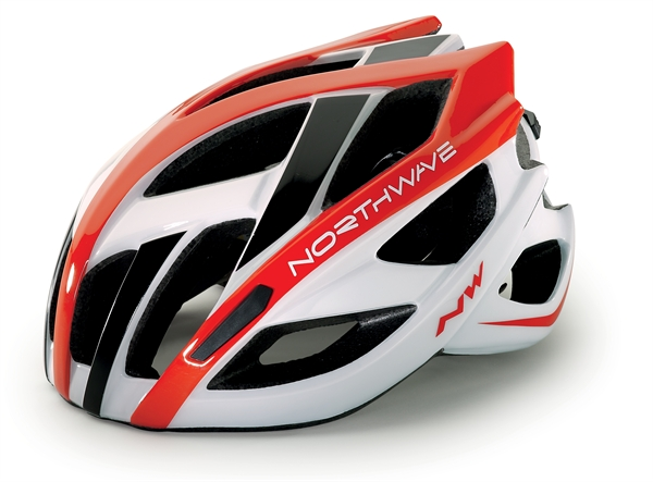 Northwave Aircrosser Helm white/red/black