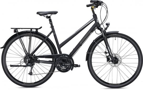 """Morrison Trekkingbike T 3.0 Trapez Damen 28"""" matt schwarz 45 cm"""