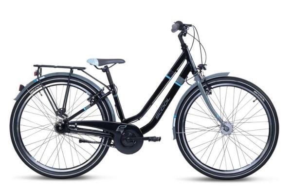 S´COOL chiX twin 26 Aluminium 7-Gang black/blue
