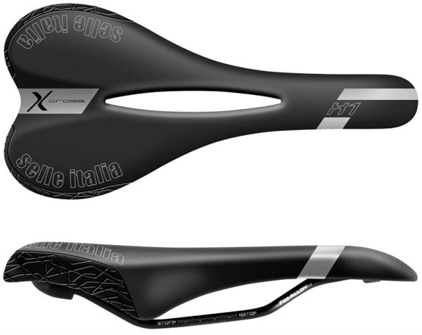 Selle Italia X1 X-Cross Flow Sattel - schwarz