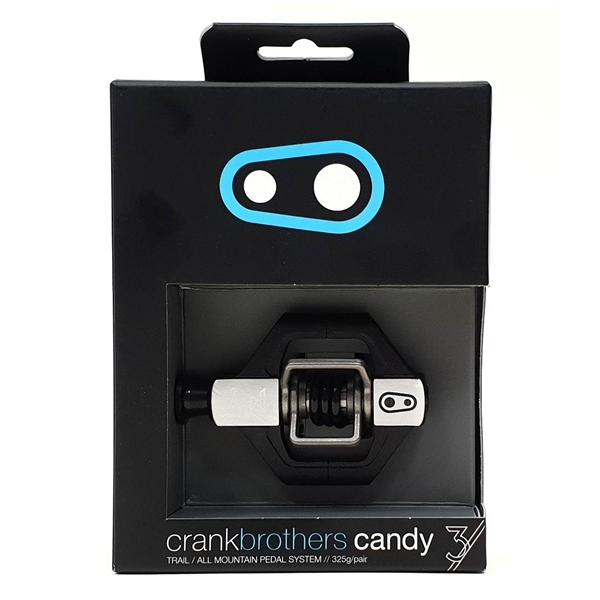 Crank Brothers Candy 3 Pedal - schwarz