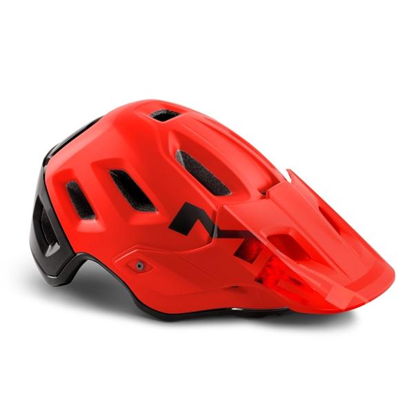 Met Roam Helmet Red Matt Glossy