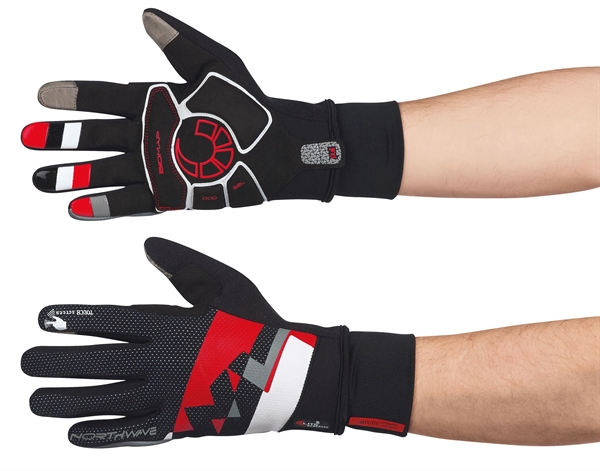 Northwave X-Cellent Touch Long Gloves black