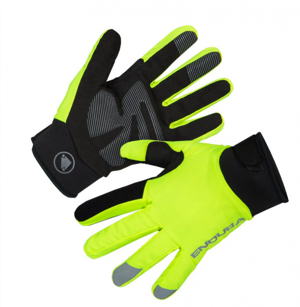 Endura Strike Gloves neon yellow