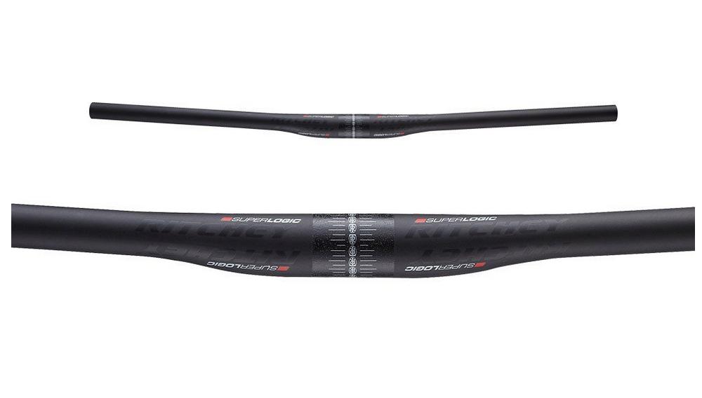 //-5mm 720mm 9D BB Black Ritchey Comp Flat MTB Handlebar 31.8mm