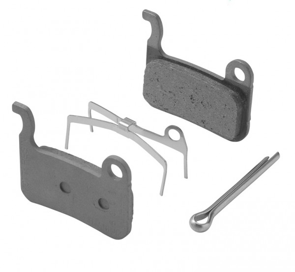 Shimano disc brake pads M07Ti Resin for XTR BR-M975 and XT BR-M775