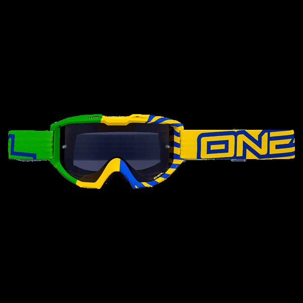 ONeal B1 RL Goggle OKINAWA green/yellow