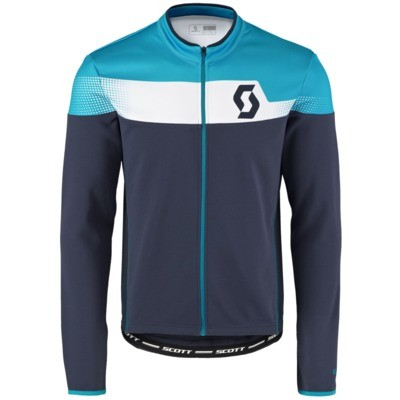 SCOTT Shirt Endurance AS l/sl blue nights/hawaii blue