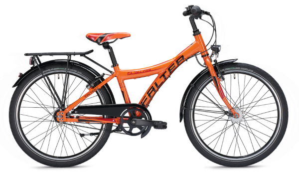 Falter FX 407 Pro 24 inch Y orange/black Kids Bike