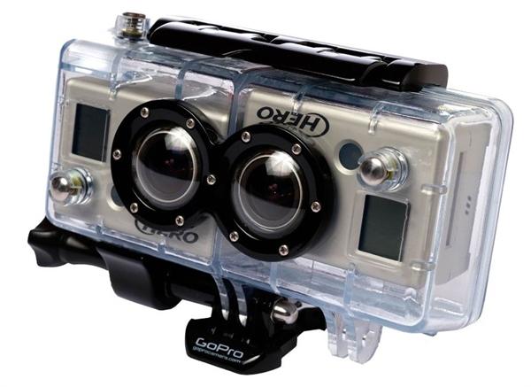 GoPro 3D Hero Gehäuse