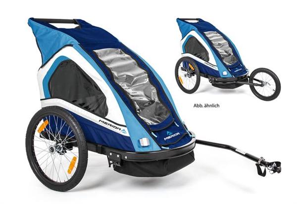 Merida child trailer Uno blue