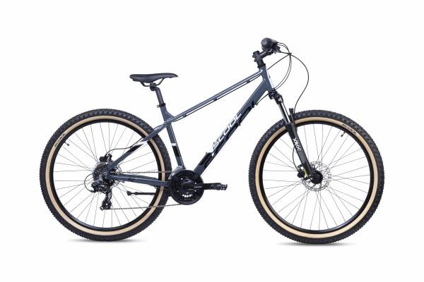 S´COOL chiX twin 26 Aluminium 7-Gang black/pink