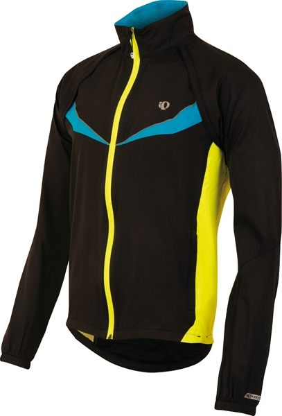Pearl Izumi Elite Barrier Convertible Jacket schwarz / gelb %