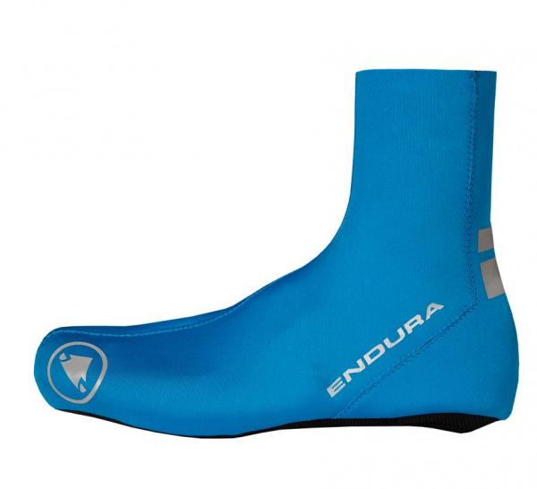 Endura FS260 Pro Nemo Überschuh Neon-Blau