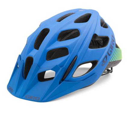 Giro Hex Helm mat blue/lime
