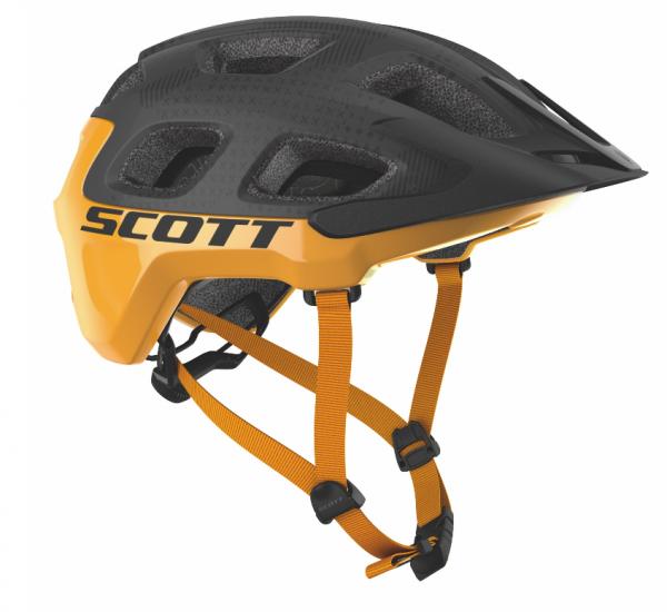 Scott Helm Vivo Plus dark grey/fire orange