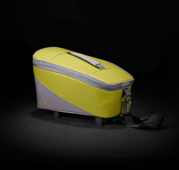 Racktime luggage carrier Talis trunk bag eco lime green / stone grey