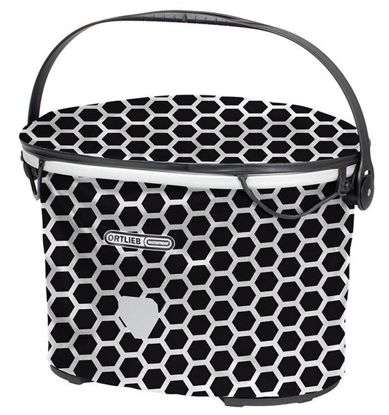 Ortlieb Uptown Design Handlebar Basket Honeycomb