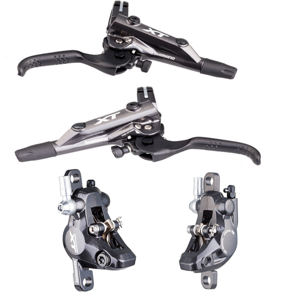 Shimano Deore XT Disc Brake-Set BR- M8000 XC front/ Rear black