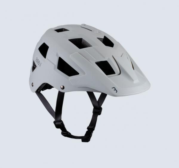 BBB Helm Nanga mattgrau/weiß