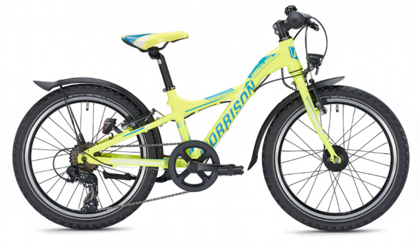 Morrison Mescalero S20 20 inch Y-Lite yellow/blue Kids Bike