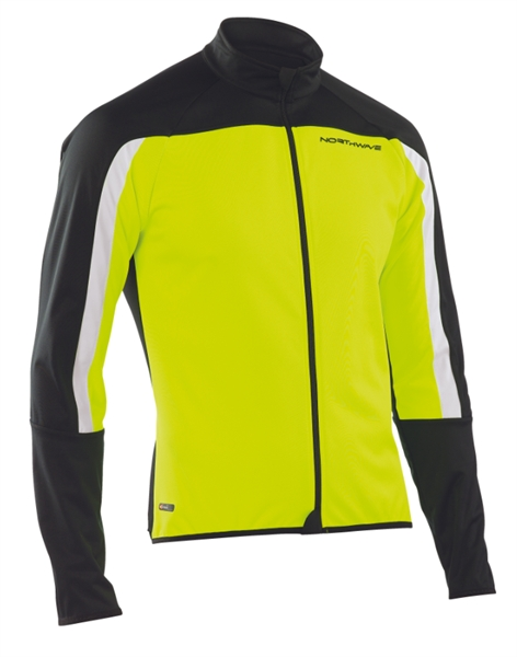 Northwave Sonic Jacket Yellow Fluo/Black