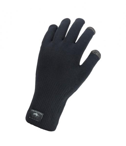 SealSkinz Glove Ultra Grip knitted black