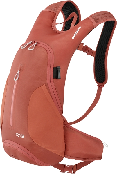 Shimano Backpack Rokko 12 Litre rooibos orange