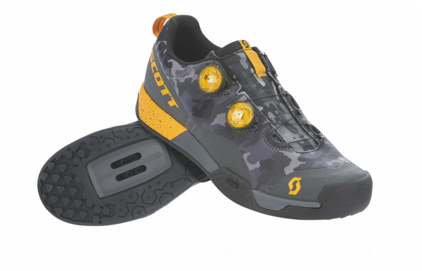 SCOTT MTB AR Boa Clip Shoe dark grey/tuned orange