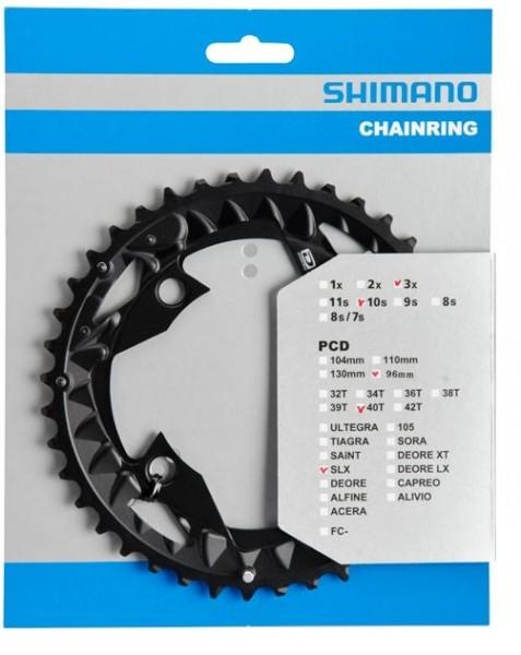 Shimano SLX FC-M672 10-fach Chainring 22 / 30 / 40