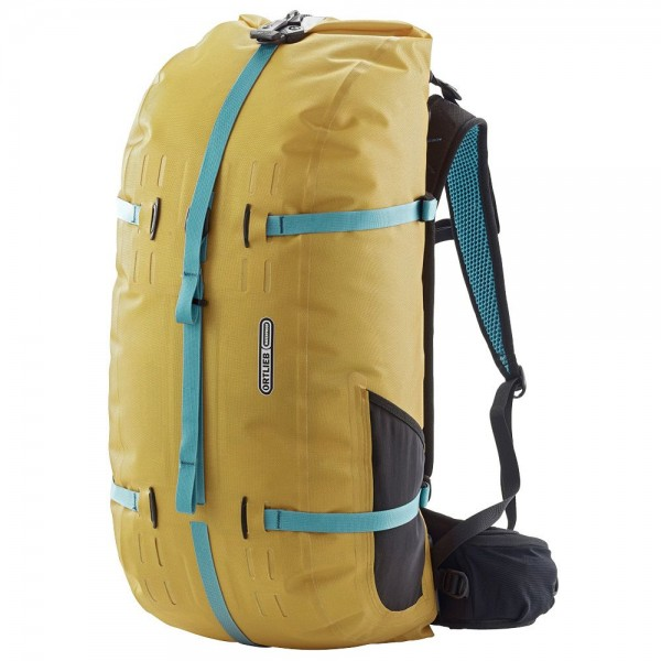 Ortlieb Atrack waterproof backpack 45L mustard