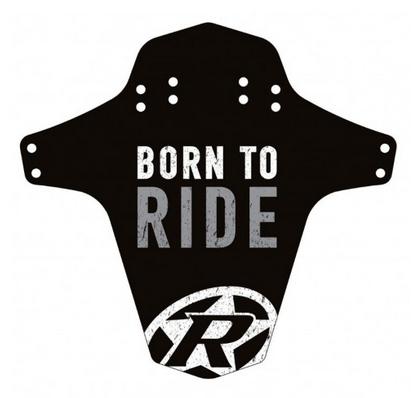 Reverse Mudguard Born to Ride grau