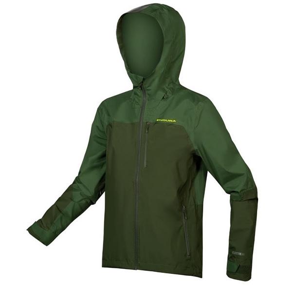 Endura Singletrack Jacket waterproof green forest