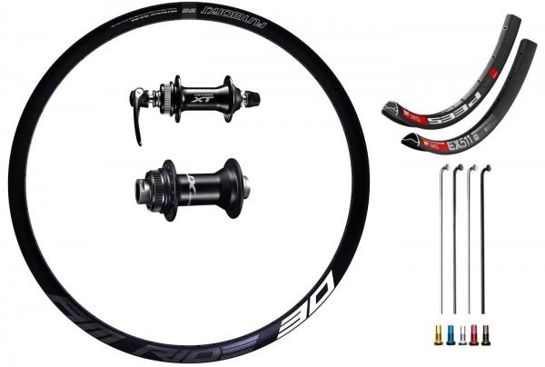 "Shimano XT Disc CL Custom Front Wheel MTB 27,5"""