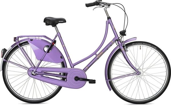 "Falter Classic Bike H 1.0 28"" glänzend perlviolett"