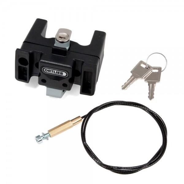 Ortlieb Handlebar Mounting-Set with Lock abschließbare Lenkerhalterung