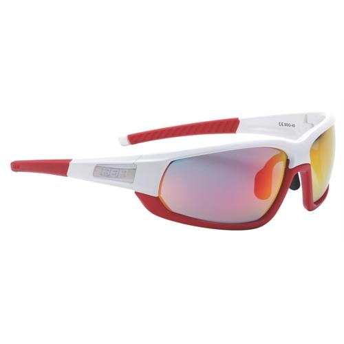 BBB Sportbrille Adapt BSG-45 weiß-rot %