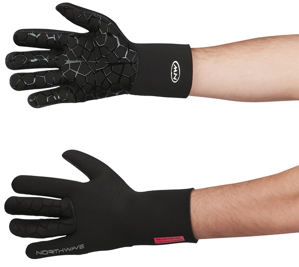 Northwave Neoprene Long Gloves black
