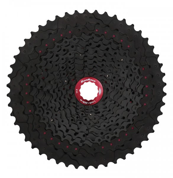 Sunrace Kassette CS MX80 11-fach 11-50 schwarz
