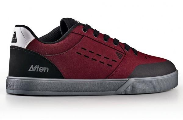 Afton Keegan Flatpedal Shoe Black / Maroon