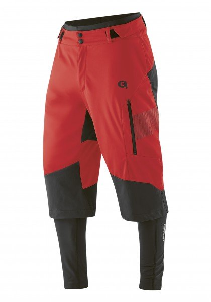 Gonso Sirac 3-in-1 Softshell Hose high risk red