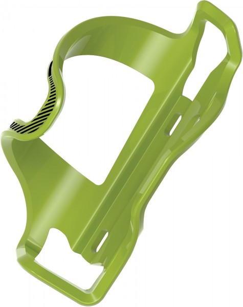 Lezyne Water bottle holder Flow Cage E green-black / right