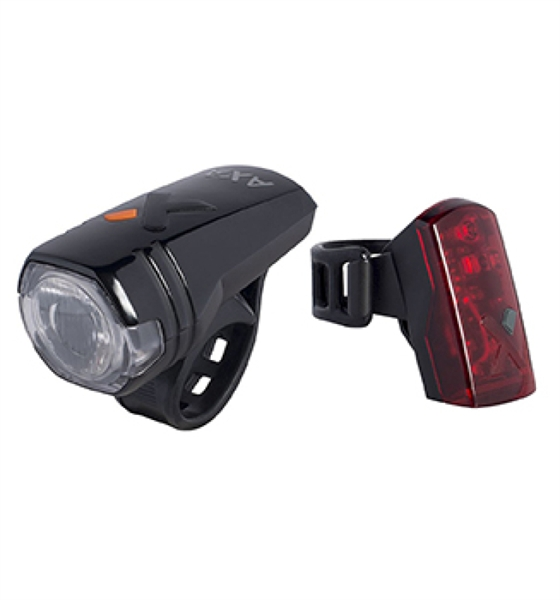 Axa Green Line 50 Lux - Battery Light and LED Backlight