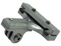 K-Edge Go Big Pro Sattelhalterung gunmetal