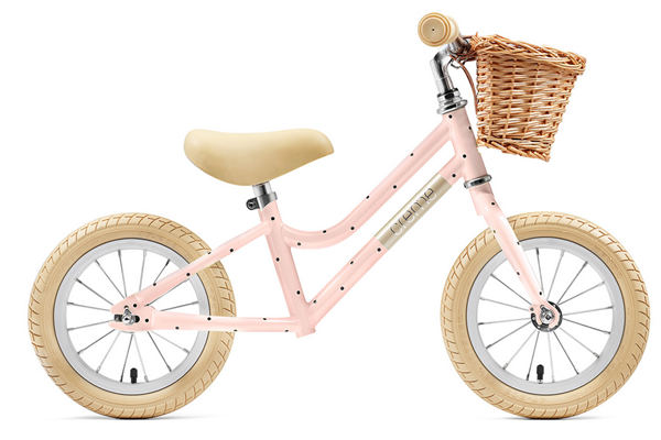 "Creme Cycles Mia 12"" Push-Bike pale peach"