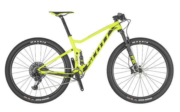 Scott Bike Spark RC 900 comp gelb 2019