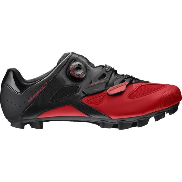 Mavic Crossmax Elite MTB Schuh schwarz/fiery red